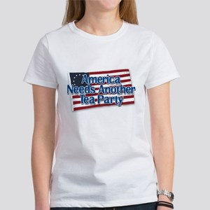 America Needs Another Tea Party v2 Women's T-Shirt
