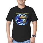 Earth Child Men's Fitted T-Shirt (dark)