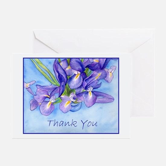 "Iris ""Thank You"" Greeting Cards (Pk of 10)"