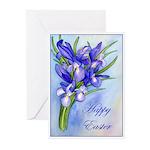 Iris Easter Greeting Cards (Pk of 10)