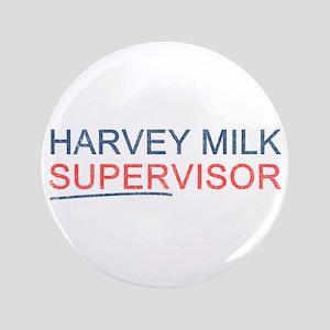 """Harvey Milk Supervisor 3.5"""" Button (100 pack)"""