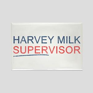 Harvey Milk Supervisor Rectangle Magnet