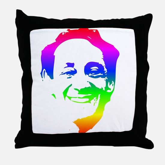 Harvey Milk Portrait Throw Pillow