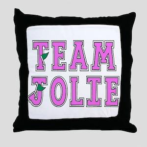Team Jolie 2 Throw Pillow