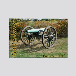 Gettysburg Cannon Rectangle Magnet