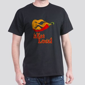 hEat Local Dark T-Shirt