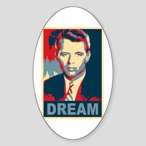 RFK DREAM Artistic Oval Sticker