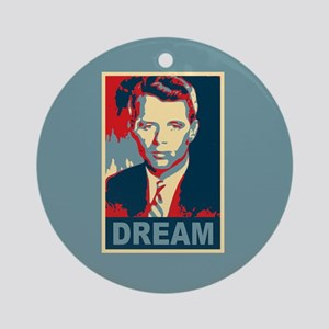 RFK DREAM Artistic Ornament (Round)