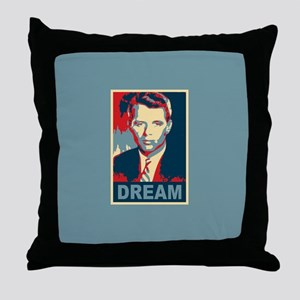 RFK DREAM Artistic Throw Pillow