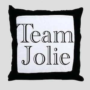 Team Jolie 3 Throw Pillow