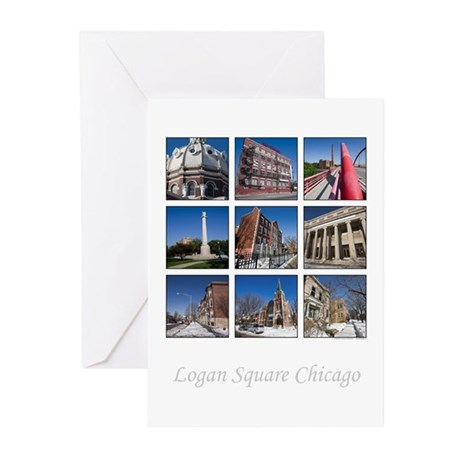 3x3 Photo Grid Greeting Cards (Pk of 10)