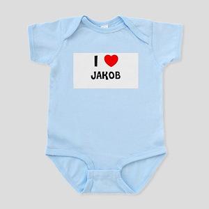 I LOVE JAKOB Infant Creeper