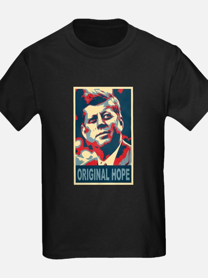 JFK ORIGINAL HOPE Pop Art T