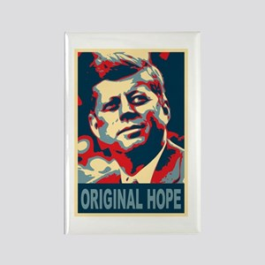JFK ORIGINAL HOPE Pop Art Rectangle Magnet
