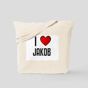 I LOVE JAKOB Tote Bag
