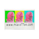 Miz Cotton Rectangle Magnet