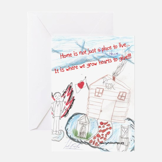 Heart of the Home Greeting Card