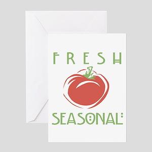 Fresh Seasonal Greeting Card