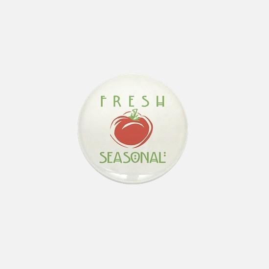 Fresh Seasonal Mini Button
