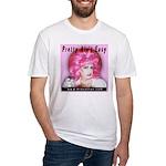 Miz Cotton Fitted Pretty T-Shirt