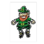 St. Patrick's Leprechaun Postcards (Package of 8)