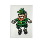 St. Patrick's Leprechaun Rectangle Magnet (10 pack