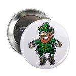"St. Patrick's Leprechaun 2.25"" Button"