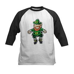 St. Patrick's Leprechaun Kids Baseball Jersey