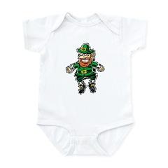 St. Patrick's Leprechaun Infant Bodysuit