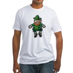 St. Patrick's Leprechaun Fitted T-Shirt