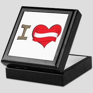 I heart Austria Keepsake Box