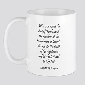 NUMBERS  23:10 Mug