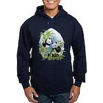 Panda Bears Hoodie (dark)