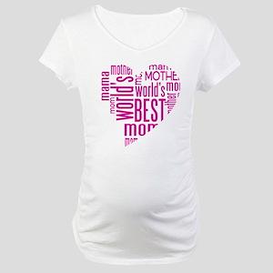 World's Best Mother Maternity T-Shirt