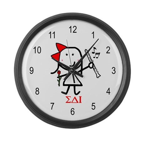 Clarinet - SAI Large Wall Clock