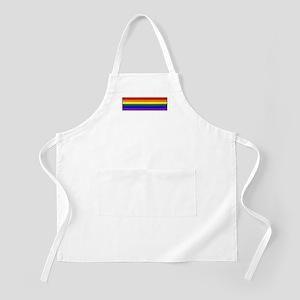 Rainbow Pride Flag BBQ Apron