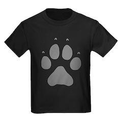 Wolf Paw Print T