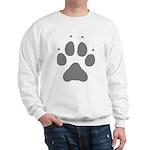 Wolf Paw Print Sweatshirt