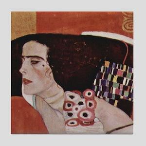 Gustav Klimt Art Tile Coaster Judith - Tile Se 1/4