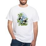 Panda Bears White T-Shirt