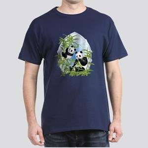 Panda Bears Dark T-Shirt