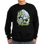 Panda Bears Sweatshirt (dark)