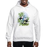 Panda Bears Hooded Sweatshirt