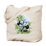 Panda Bears Tote Bag