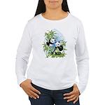 Panda Bears Women's Long Sleeve T-Shirt