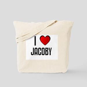 I LOVE JACOBY Tote Bag