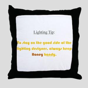 ~ L.Tip 001 ~ Throw Pillow