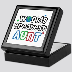 World's Greatest Aunt! Keepsake Box