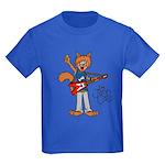 The Jam Cats Kids Dark T-Shirt