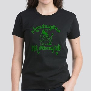 Shenanigans Irish Watering Ho Women's Dark T-Shirt